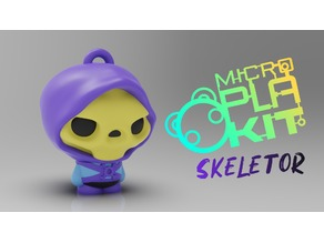 Skeletor Masters of the Universe (MicroPlaKit Series)