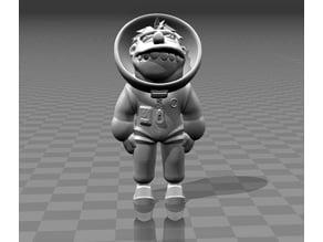 Barney Astronaut