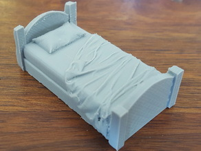 Bed unmade 28mm for Openforge