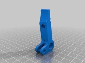 Printrbot Alu Extruder Arm Shaved