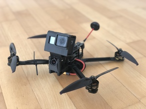 AMAXinno Freestyle GoPro HERO 7 Mount (FRONT)