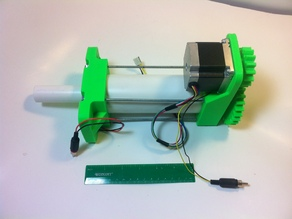 3D Printed High Load Linear Actuator