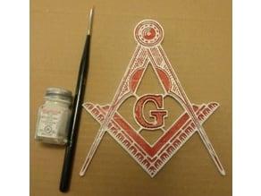 Mason symbol (high detail)