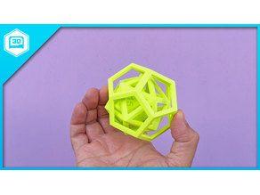 D20 inside icosahedron