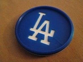 LA Dodgers Coaster
