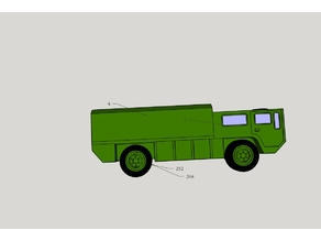 army truck toy