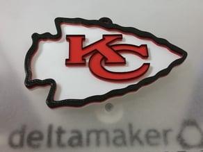 Kansas City Chiefs Wall Hanger