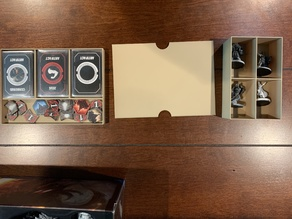 Lords of Hellas Base Storage For Sleeved Cards
