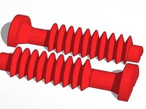 Split Worm Gear
