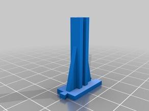 Mobile Rack Partition Holder