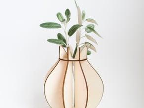 Tulip flatpack vase