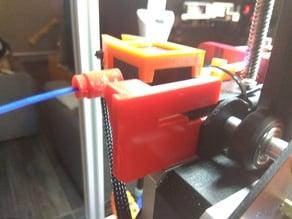 Filament guide and fix for filament sensor Creality CR-10S