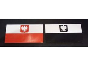 Bandera Polaca  Poland flag