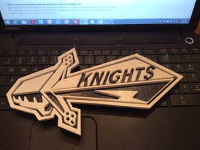 Knight Sword Keychain or Phone Dangler