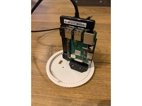 MacPI Pro XL RPi PI3 + SSD Mount