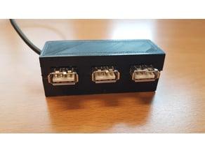 Case for USB splitter