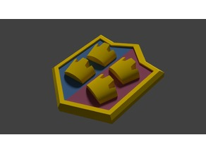 Clash of Clans Crown Crest