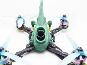 3DPOWER TPU Runcam EAGLE Pod Canopy for Catalyst Machineworks Merica