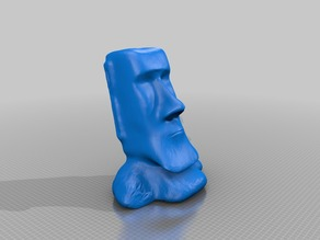 Moai Offer you a tissue