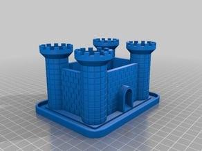 Plant holder castle