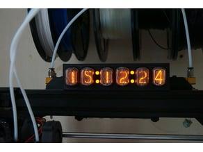 Nixie Countdown Clock For A 3D Printer