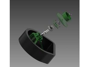 Filament Holder for Flux Delta v2.00 for 6203Z Bearing