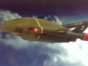 Thunderbird 2 plated by colour