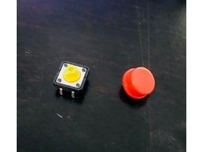 Single push button switch box