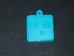 Minecraft Slime Keychain