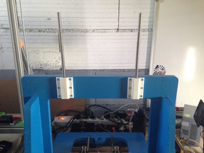 Support de bobine pour iTopie et autres chassis avec cadre en bois - Spool holder for iTopie and other wood frame