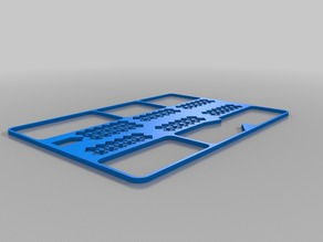 Terraforming Mars playmat overlay trimmed to fit Ultimaker3