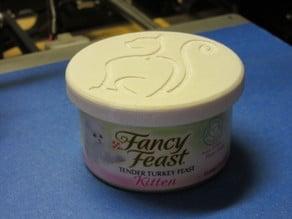 Small Can Lid (Fancy Feast)