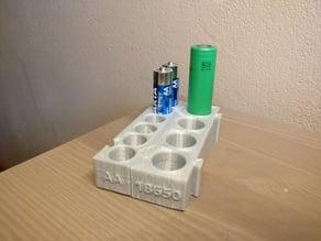 18650 Modular Battery Holder