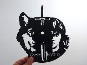 Reloj juego de tronos