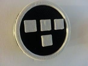 Tron badge leash cover