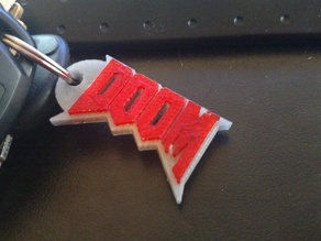 DOOM Key Chain