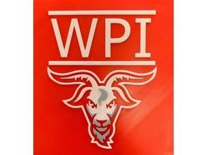 WPI Goat Plaque