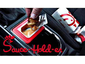 Chick-Fil-A Sauce Holder - Toyota Tacoma