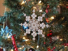 The BlocksCAD Snowflake