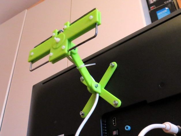 moxon uhf tv antenna for dvb t fully parametrized by enif thingiverse. Black Bedroom Furniture Sets. Home Design Ideas