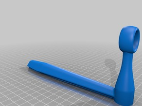 Longer alternate filament guide for the Universal Stand-alone Spool Holder