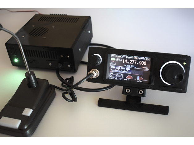Ubitx Remote Head With 3 5 Quot Nextion Screen By Du2rk