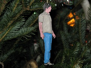 GoogleHipster Christmas Ornament