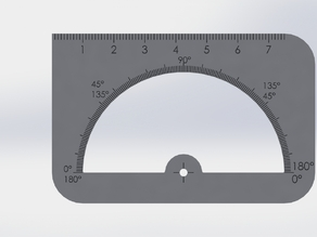 Credit card ruler