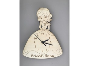 Princess clock