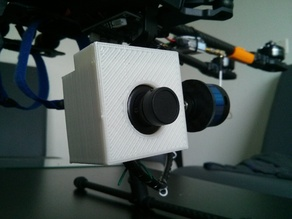 Boscam HD-19 Mount for Tarot gimbal (T-2D V2)