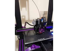 Ender 3 direct drive mount for Creality hotend