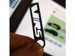 4 Skoda Octavia RS VRS Keychain Designs