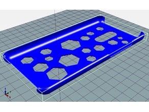 Redmi Note 3 case hexagon