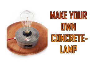 Concrete Lamp